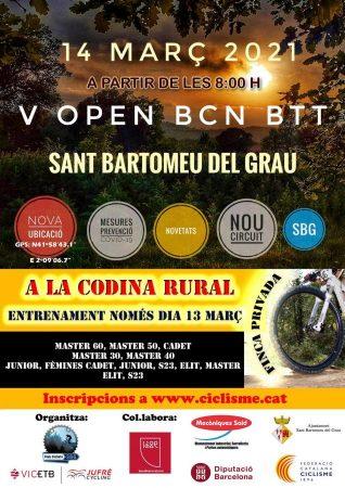 El Open Barcelona BTT llega a Sant Bartomeu del Grau