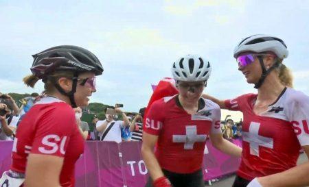 Suiza arrasa en el XCO olímpico con las tres medallas !