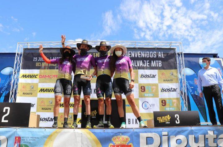 Los equipos Hans Becking y José Dias y Silvia Roura y Naima Madle ganan la Colina Triste
