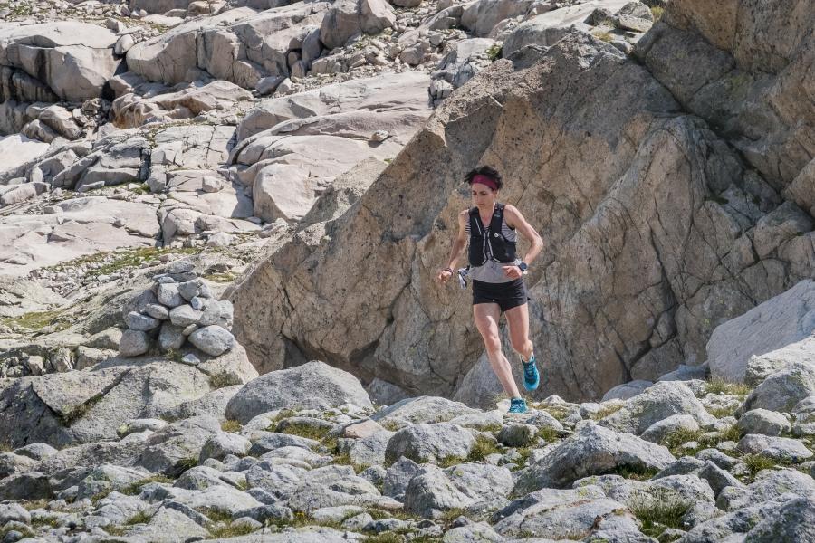 Oihana Kortazar establece un nuevo récord de ascenso y descenso del Aneto
