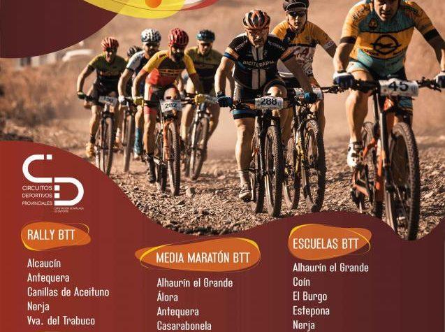 Antequera acoge el Circuito Diputación de Málaga en su modalidad de BTT Media Maratón