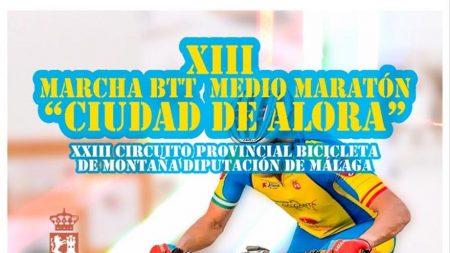 Álora acoge el Circuito Provincial Diputación de Málaga de Media Maratón