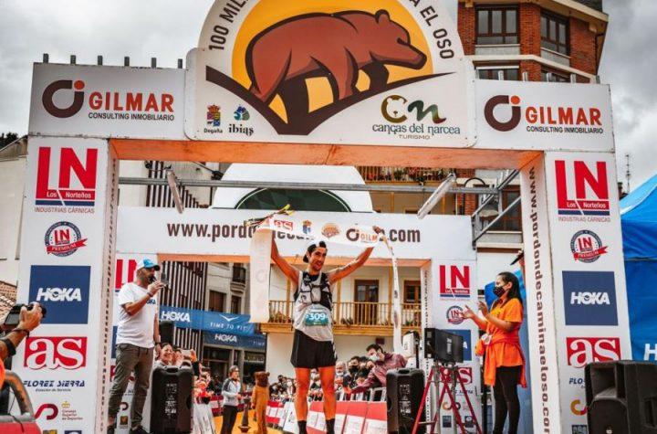 Pablo Villa y Azara García ganan las «100 millas por donde camina el oso»