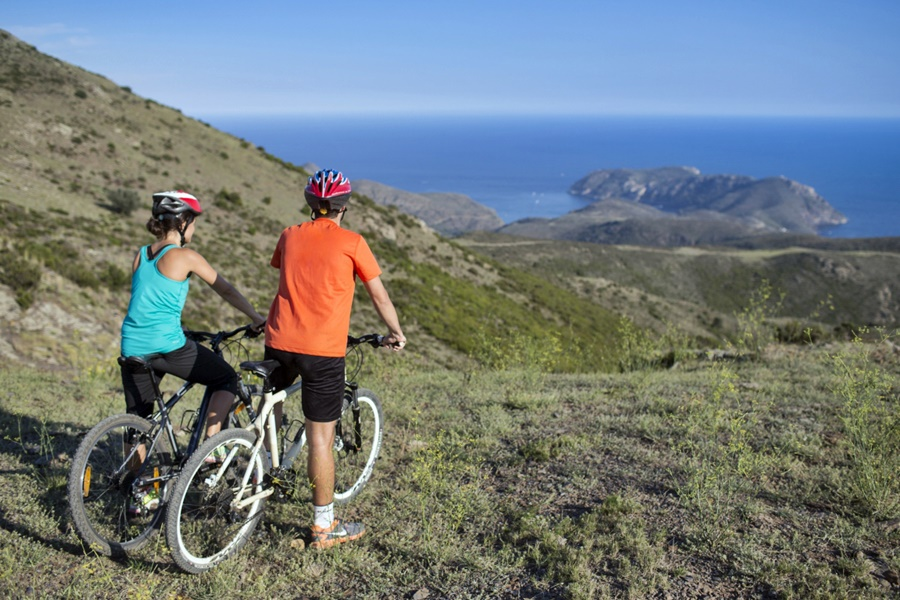 Roses en la Costa Brava presenta 9 rutas para Mountain Bike