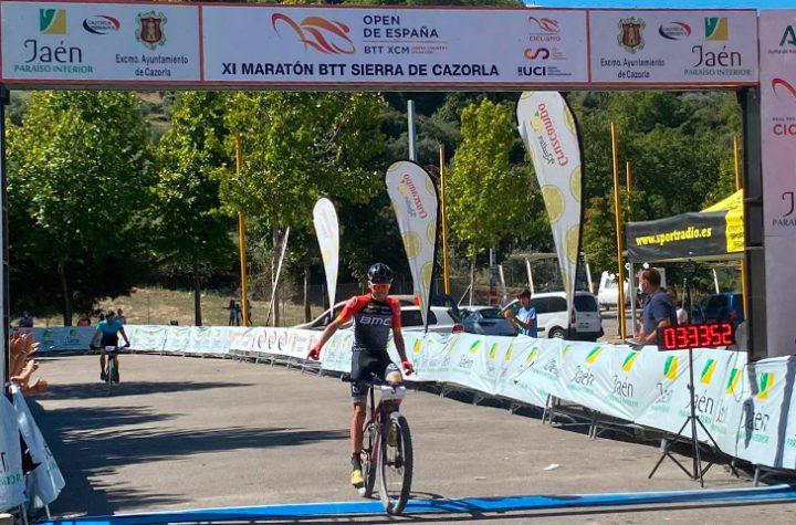 Pablo Guerrero y Susana Alonso ganan la XI Maratón BTT Sierra de Cazorla