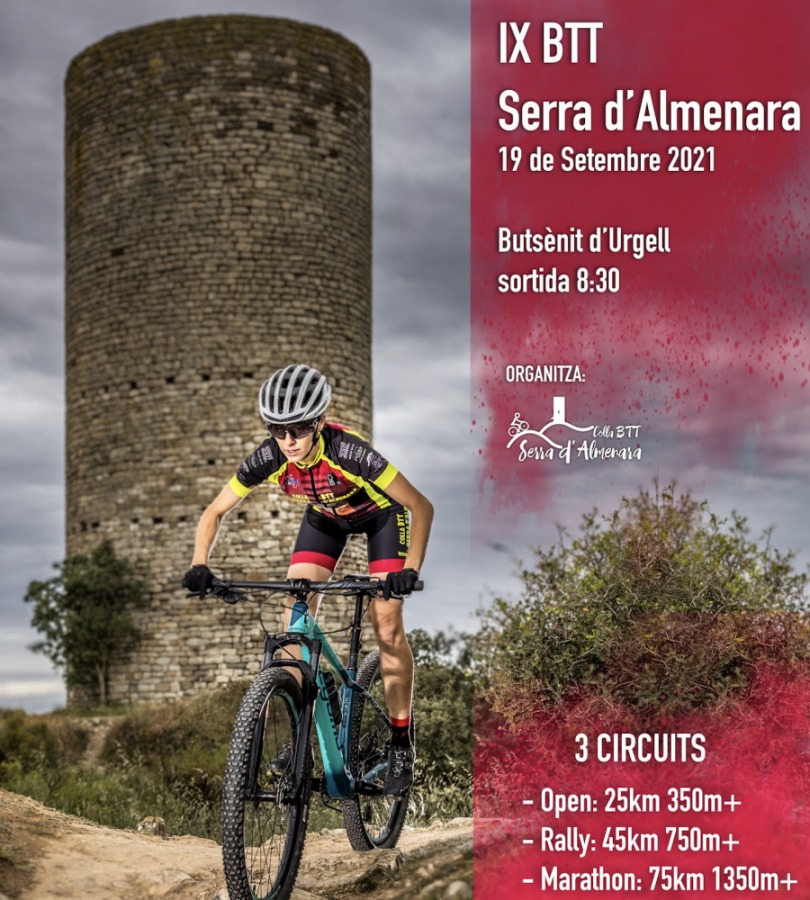 La marcha BTT Serra d'Almenara se celebrará el domingo