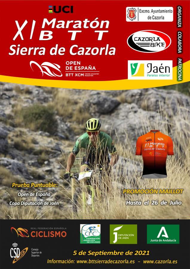 El Open de España de Maratón entra en su tramo final con la disputa del BTT Sierra de Cazorla