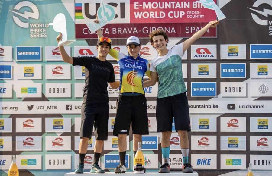 Sandra Santanyes imbatible en las UCI World E-Bike Series de Girona