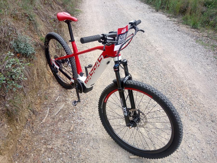 Probamos la E-bike GasGas CROSS COUNTRY 7.0 2021