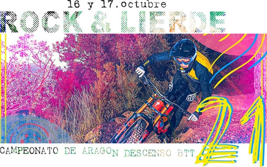 ROCK & LIERDE en Villanúa, acoge el Campeonato de Aragón de Descenso BTT