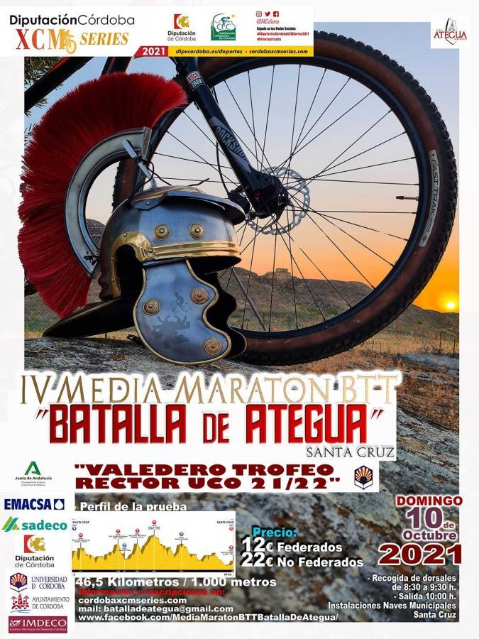 La Batalla de Ategua próxima parada de las 'DiputaciónCórdoba XCM Series 2021'