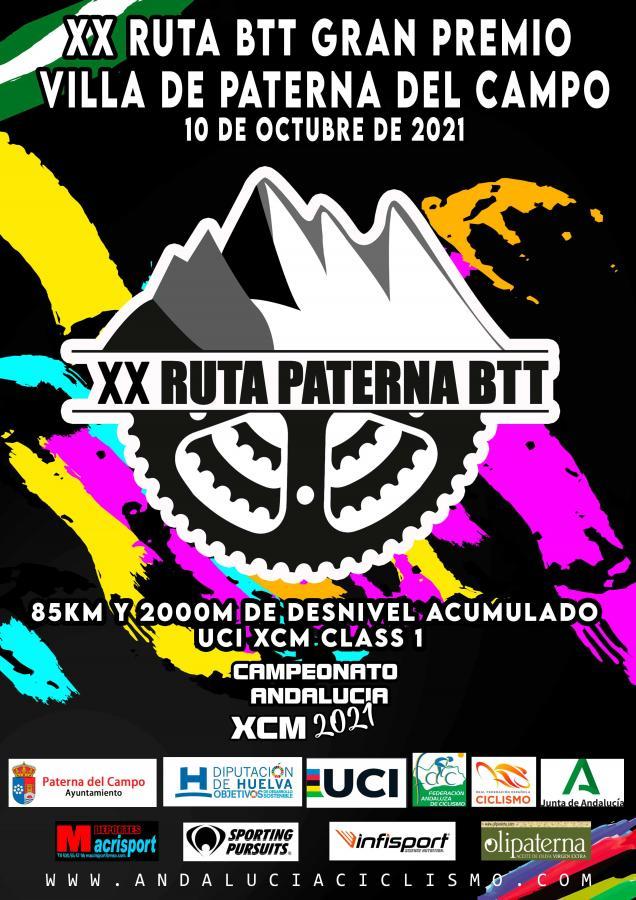 La Ruta BTT Villa de Paterna será el Campeonato Andalucía XCM 2021