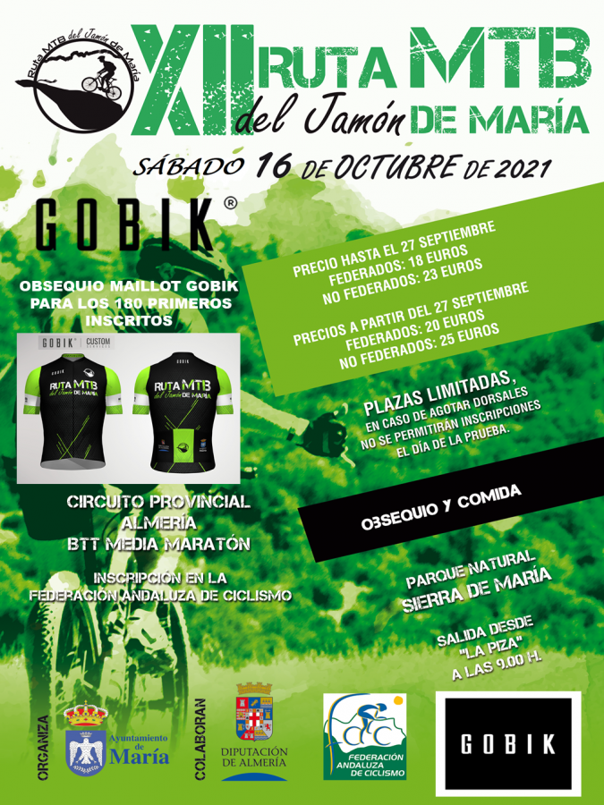 La Ruta del Jamón abre un intenso fin de semana para las XCM Series Almería