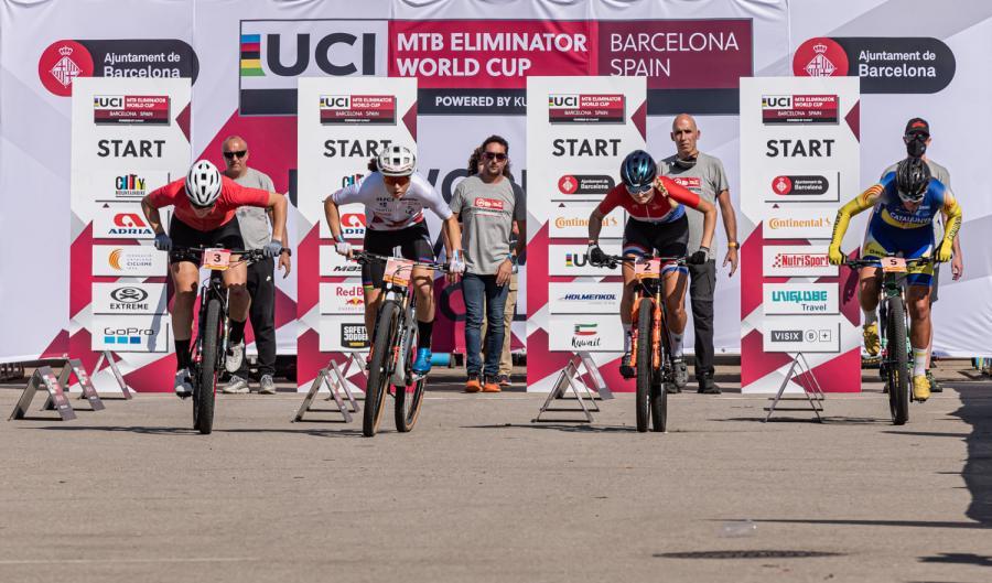 Van Eck y Tromena se imponen en el Eliminator de Barcelona