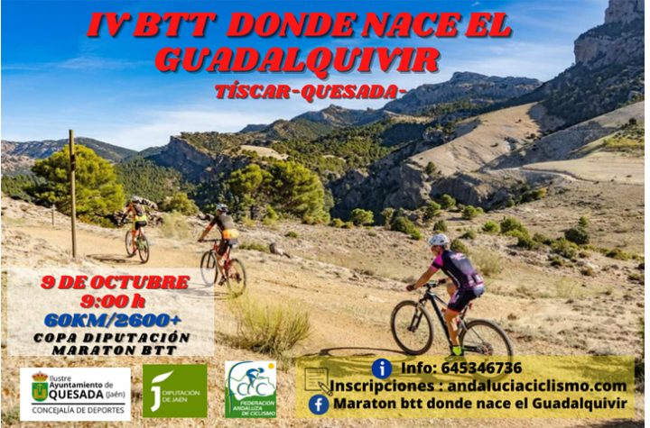 La Copa Diputación de Jaén XCM llega a Quesada